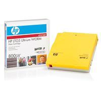Disks en tapes - Hewlett Packard Enterprise HPE LTO Ultrium 3 WORM data cartridge 800GB 1-pack - C7973W