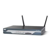 Routers - Cisco ADSL OPOTS 8 PORT 10/100BASET **New Retail** - CISCO1801