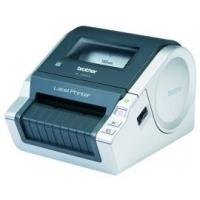 Label printers - Brother QL-1060N - Etiketprinter - thermisch papier - Rol (10,2 cm) - 300 dpi - tot 110 mm/sec - USB, LAN, serieel - QL1060NWL1