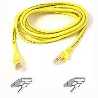 Netwerk kabels - Belkin Cable/patch CAT5 RJ45 snagless 3m Geel - A3L791B03M-YLWS