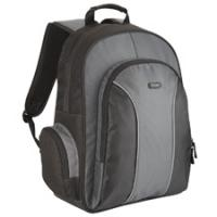 Notebook tassen - Targus ESSENTIAL NOTEBOOK BACKPAC Zwart & GREY - TSB023EU