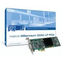 VGA kaarten - Matrox Millenium G55032Mb DDR360Mhz2x VGA or 2x Digital output or mixPCIe Low Profile 1x256bit CPU - G55-MDDE32LPDF
