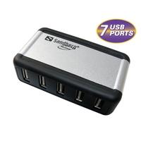 USB Hubs - Sandberg USB 2.0 Hub AluGear (7 ports) - 135-59