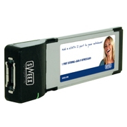 Controllers - Sweex eSATA Controller 1-poort Sweex PU211 eSATA 1p Extern PCe PU211 24 maanden garantie - PU211