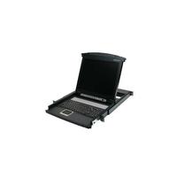 "Rack monitor consoles - iogear 17"" LCD KVM Combo Console - GCL1800"