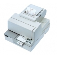 Matrix printers - Epson TM-H 5000 II, RS232, cutter, wit Multi-station printer, direct thermisch, mediabreedte (max): 80 mm, snelheid(max): 120mm/sec., RS232, afsnijdmechanisme, ESC/POS, apart bestellen, interface kabel, voeding, kleur: wit - C31C246012