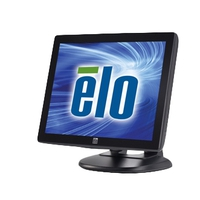 Touch screen monitoren - Elo Touch Solution 1515L, 38.1 cm (15), AT, donkergrijs touch monitor (4:3), 38.1 cm (15), AccuTouch, 1024x768 pixels, VESA mount, 14,2ms, helderheid: 200cd, kijkhoek: 140/115°(H/V), contrast: 450:1, VGA, touch interface: USB, RS232, netsnoer (EU), kleur: donkergrijs - E344320