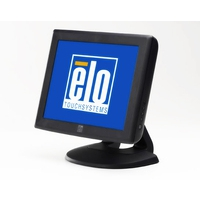 Touch screen monitoren - Elo 1215L, 30.5 cm (12), AT, donkergrijs touch monitor (4:3), 30.5 cm (12), AccuTouch, 800x600 pixels, VESA mount, 35ms, helderheid: 164cd, kijkhoek: 140/100°(H/V), contrast: 500:1, VGA, touch interface: USB, RS232, kabel (USB, RS232, VGA), netsnoer (EU), kle - E432532