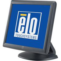 Touch screen monitoren - Elo 1715L, 43.2 cm (17), AT, donkergrijs touch monitor (5:4), 43.2 cm (17), AccuTouch, 1280x1024 pixels, VESA mount, 25ms, helderheid: 230cd, kijkhoek: 140/123°(H/V), contrast: 800:1, VGA, touch interface: USB, RS232, netsnoer (EU), kleur: donkergrijs - E603162