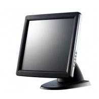 Touch screen monitoren - Glancetron GT15plus, 38.1 cm (15), zwart touch monitor (4:3), 38.1 cm (15), resistieve (5-draads), 1024x768 pixels, 8ms, helderheid: 200cd, contrast: 500:1, VGA, touch interface: USB, RS232, incl.: kabel (USB, RS232, VGA, Audio), netsnoer (EU, UK), kleur: zwart - JT-1024 GT15plus