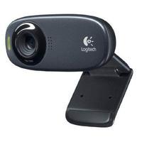 Webcams en netwerkcameras - Logitech HD Webcam C310 Zwart USB Connection - 960-000586