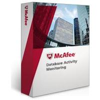 Antivirus en beveiliging - McAfee Database Activity Monitoring - 1 jaar Gold Software Support - 101 t/m 250 - DBMYCM-AA-DG