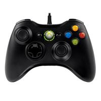 Joysticks en gamepads - Microsoft XBOX 360 WIRED CONTROLLER Windows FOR WINDOWS Zwart IN - 52A-00005