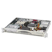 """Kasten - Supermicro 1U, 260W PS, 2x 3.5"""" Internal HDD bays - CSE-512L-260B"""