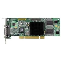 VGA kaarten - Matrox Millenium G550 32MB DDR PCI Low Profile1xLFH-60 to 2xHD15 - 1280x1024(digital)/2048x1536+1600x1200(analog) fanle - G55MDDAP32DSF