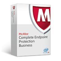 Antivirus en beveiliging - McAfee Complete EndPoint Protection - Business - ProtectPLUS Perpetual License met 1 jaar Gold Software Support - 501 t/m1000 - CEBCDE-BA-FG