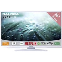 "TV s - Salora 24LED9112CSW - 24"" Klasse - 9100 Series LED-tv - Smart TV - 720p - wit - 24LED9112CSW"