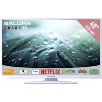 """TV s - Salora 49LED9112CSW - 49"""" Klasse - 9100 Series LED-tv - Smart TV - 1080p (Full HD) - wit - 49LED9112CSW"""