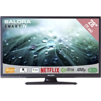 "TV s - Salora 28LED9102CS - 28"" Klasse - 9100 Series LED-tv - Smart TV - 720p - dof zwart - 28LED9102CS"