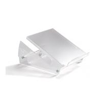 Notebookarmen en steunen  - BakkerElkhuizen Ergo-Top ergonomische notebook assistanttransparant - BNETOP320