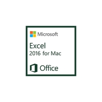 Spreadsheets - Microsoft ExcelMac 2016 AllLng OLV 1License LevelC AdditionalProduct Each - D46-00930