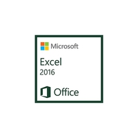 Spreadsheets - Microsoft Excel 2016 AllLng OLV 1License LevelC AdditionalProduct Each - 065-08553