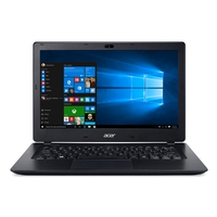 Notebooks - Acer V3-372-56YT 13i FHD IPS LED panel IntelCore i5-6200U 8 GB DDR3 Low Voltage Memory 256GB Solid State Disk (SSD) UMA N 802.11ac + BT Zwart Qwerty - NX.G7BEH.012